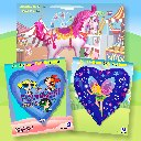 Packaged Girls Foil Balloons
